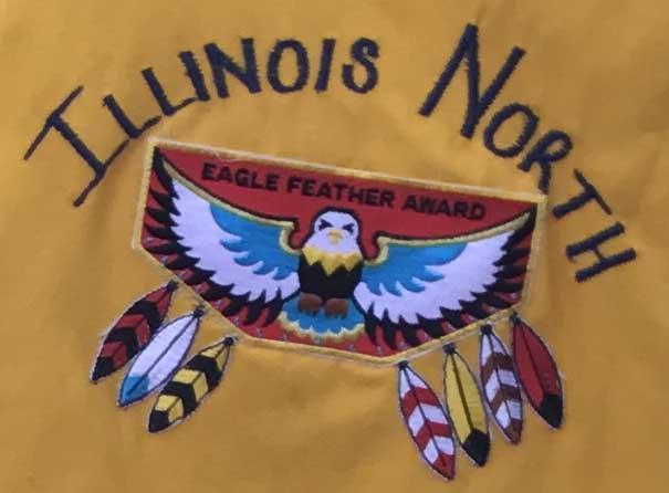 IL North Eagle Feather