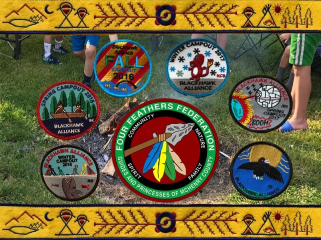 indian guides patches
