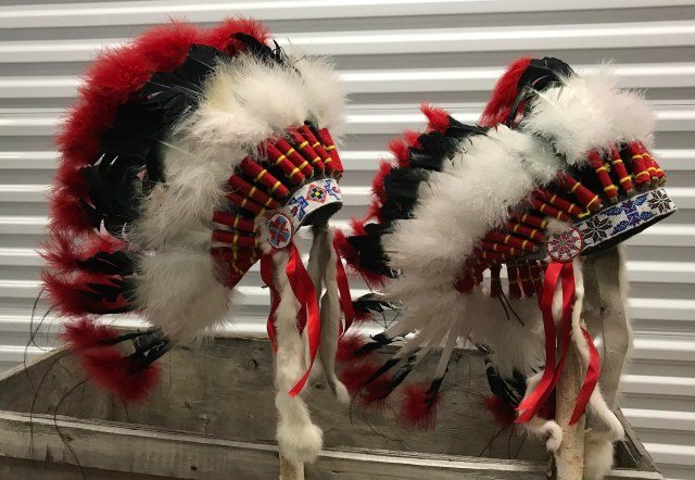 Headdress #2 _ Four Feather Nation Storage Unit October 2017 _IMG_3726