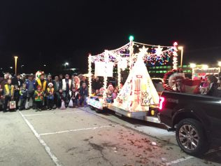 2 _ Indian Guides 2017 Crystal Lake Festival of Lights Parade _Indian Guides Winter Festival of lights 2017
