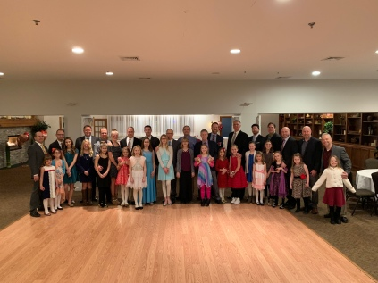 4 Jan 2019 Daddy Daughter Dance Four Feathers Princesses IMG_7853