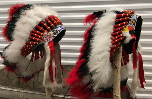 Headdress Alliance Chief Son : Daughter _ Four Feather Nation Storage Unit October 2017 _IMG_2133