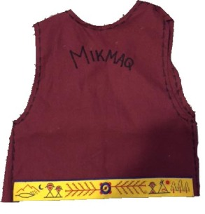 Mikmaq entire vest