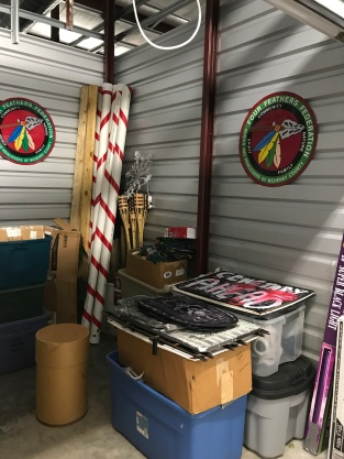 Storage side xmas and halloween _ Four Feather Nation Storage Unit October 2017 _IMG_6553