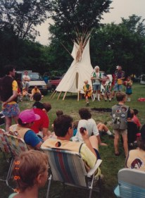 1991 spring indian guides summer 1991 camp out