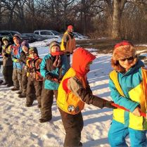 Indian Guides Winter Campout 2018