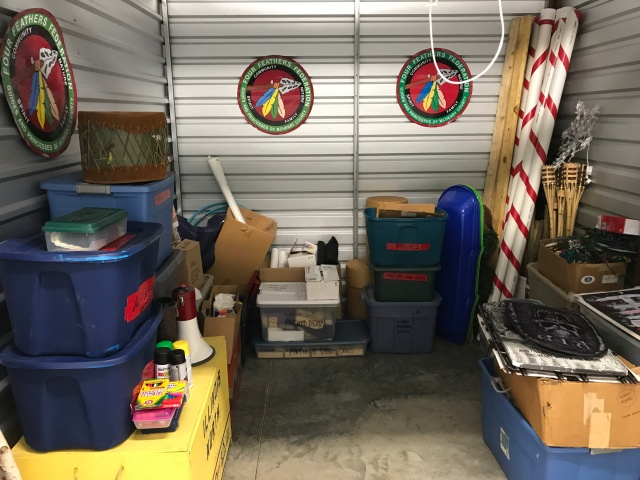 Storage front _ Four Feather Nation Storage Unit October 2017 _IMG_5932