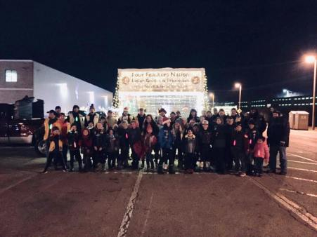 four feathers festival of lights 2018 group pic