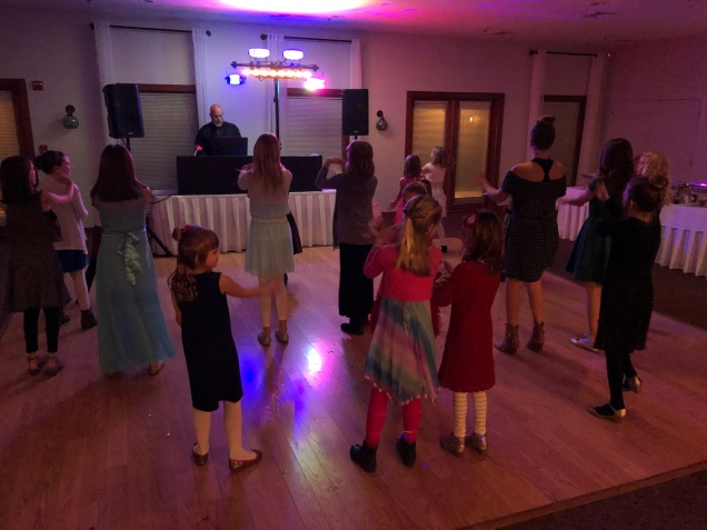 3 Jan 2019 Daddy Daughter Dance Four Feathers Princesses IMG_4686