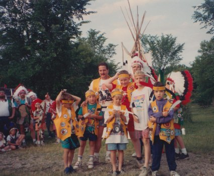 1992 indian guides 1992 summer camp